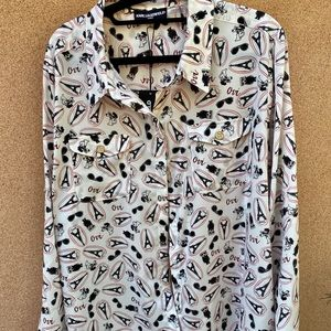 Karl Lagerfeld button down shirt NEW